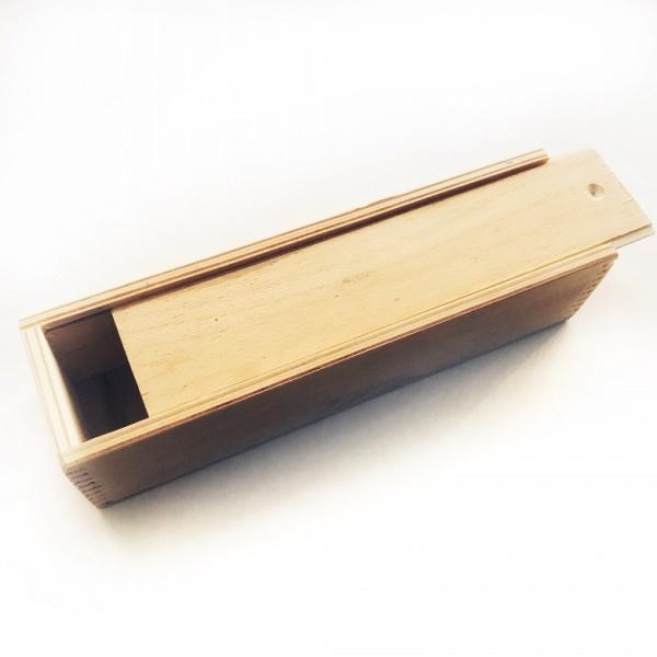 Пенал деревянный прямоугольный