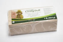 Пластик полимерный Super Living Doll бежевый 454 гр